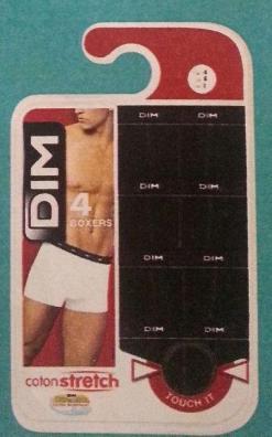 Lot de 4 boxers DIM