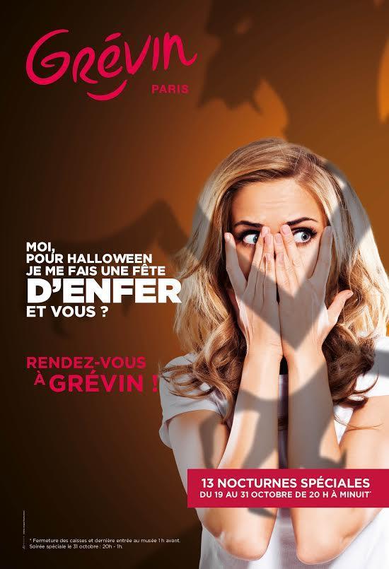 Nocturnes Halloween :1 billet acheté = 1 billet offert pour une des Nocturnes Grands Frissons au Musée Grévin