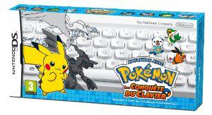 Apprends avec Pokémon : A la conquête du clavier (Jeu Nintendo DS + Clavier Bluetooth)