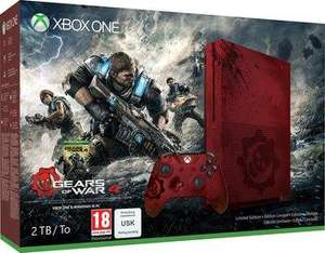 Pack console Microsoft Xbox One S (2 To, Édition Gears of War) + Gears of War 4