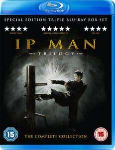 Blu-ray IP Man 1 - 2 - 3 - Edition spéciale (VOST Anglais)