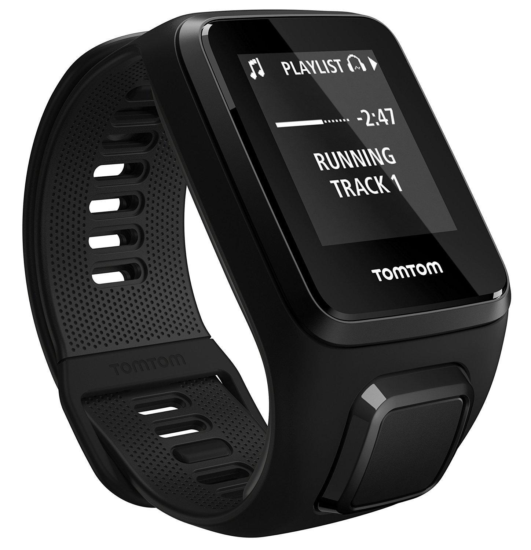 Montre GPS Tomtom Spark3 Music - Bracelet fin, Noir + Casque Bluetooth