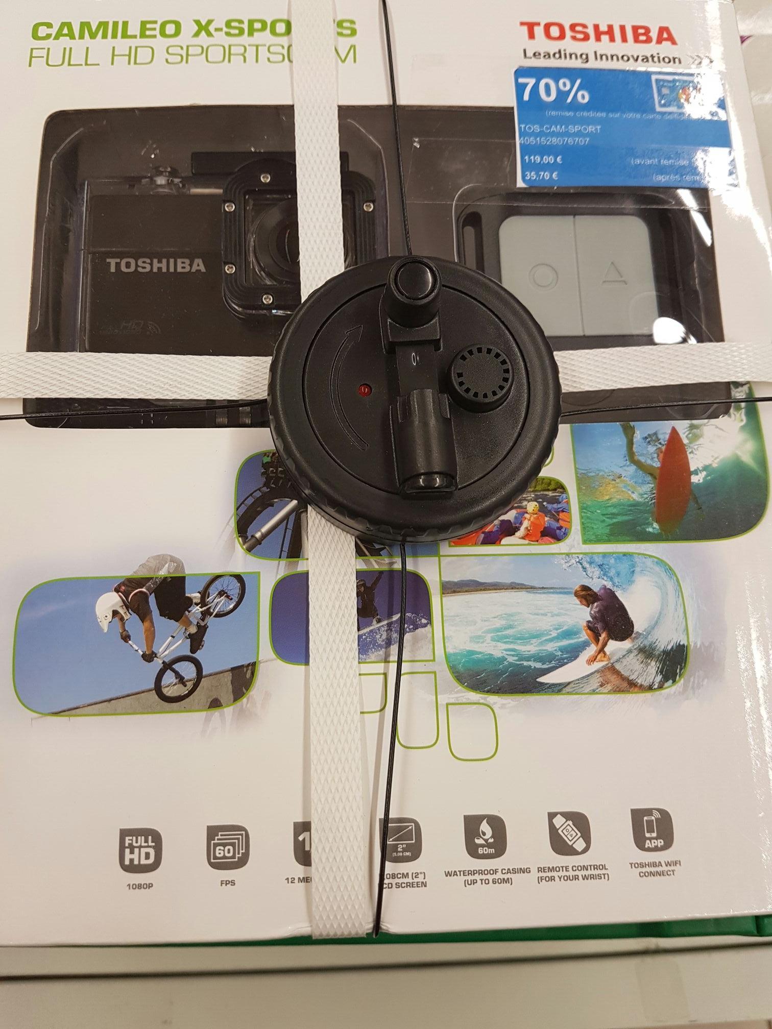 Caméra Sport Toshiba Camileo X-Sports