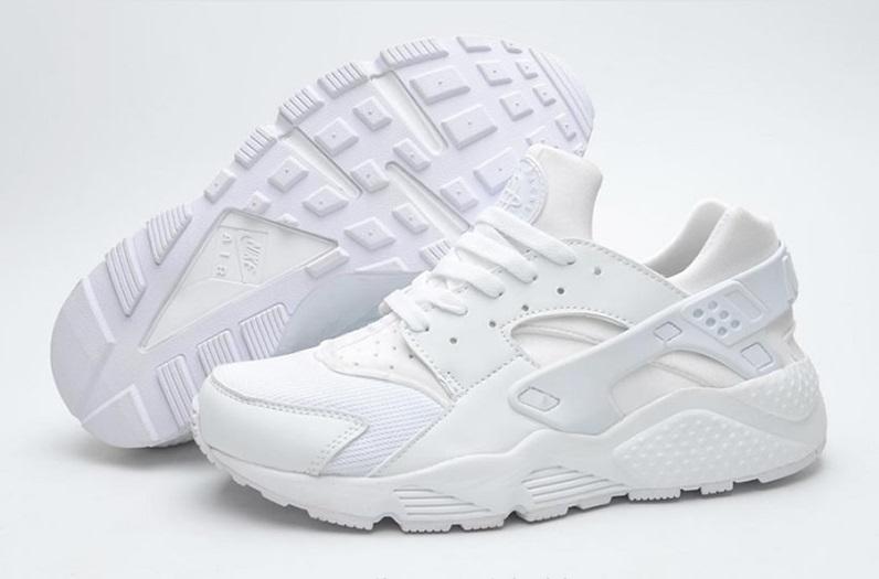 Baskets Nike Air Huarache Premium pour Hommes - Blanc