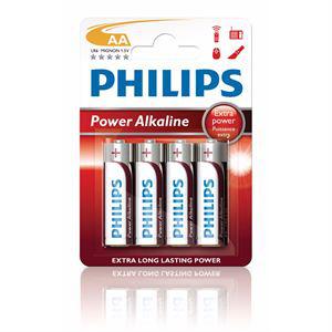 4 piles AA powerlife battery PHILIPS