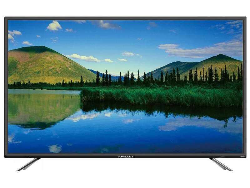 """TV 65"""" Schneider LD65-SCN08FHB - LED, Full HD, Noir"""