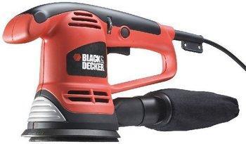 Ponceuse excentrique Black & Decker KA191EK - 1200 tr/min, 125 mm, 480 W