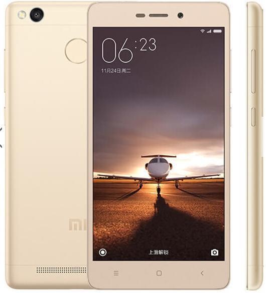 "[Précommande] Smartphone 5"" Xiaomi Redmi 3s Global Edition Dual SIM (Coloris au choix) - IPS HD, Snapdragon 430 1.4GHz, RAM 3Go, eMMC 32Go, 4100mAh (B20)"