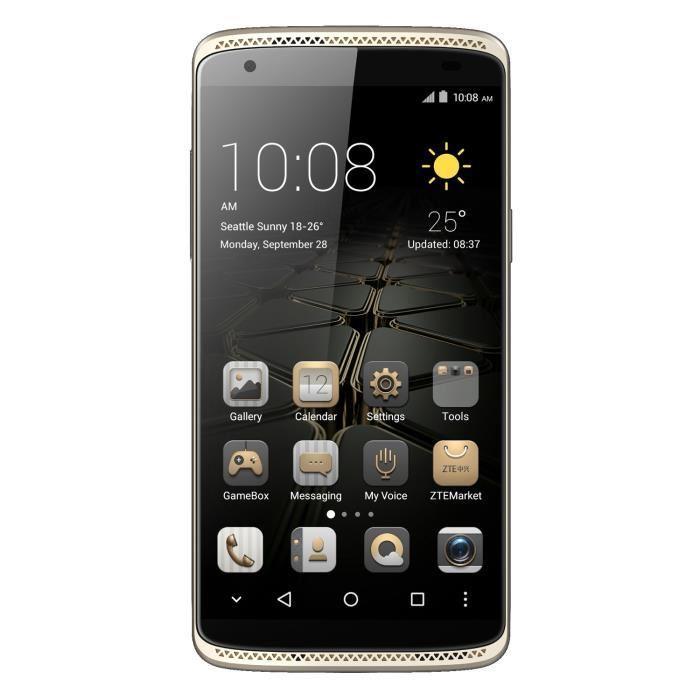 "de retour..... Smartphone 5.2"" ZTE Axon Mini (via ODR de 50€)"