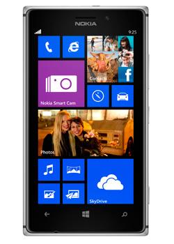 Smartphone Nokia Lumia 925 + Coque et coussin Fatboy