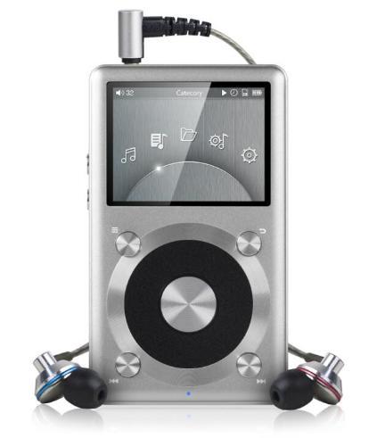 Pack Baladeur FIIO X1 + Ecouteurs EX1 - Argent ou Or