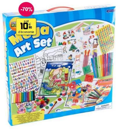 Sélection de jouets en promotion - Ex : Set de coloriage 200 pièces