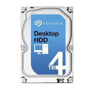 """Disque dur 3.5"""" Seagate HDD ST4000DM000 - 5900trs/mn, 64 Mo cache, 4 To"""