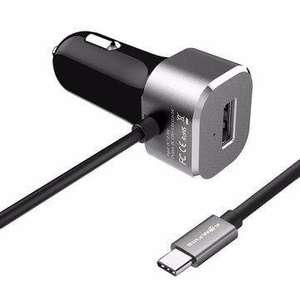 Chargeur allume-cigare BlitzWolf BW-C3 5.4A - 5V 27W, USB 3.1 Type C