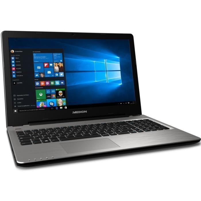 "PC Portable 15.6"" Medion Akoya E6415 - Full HD, 8Go RAM, Windows 8.1, Intel Core i7, Intel HD, Disque Dur 1To"