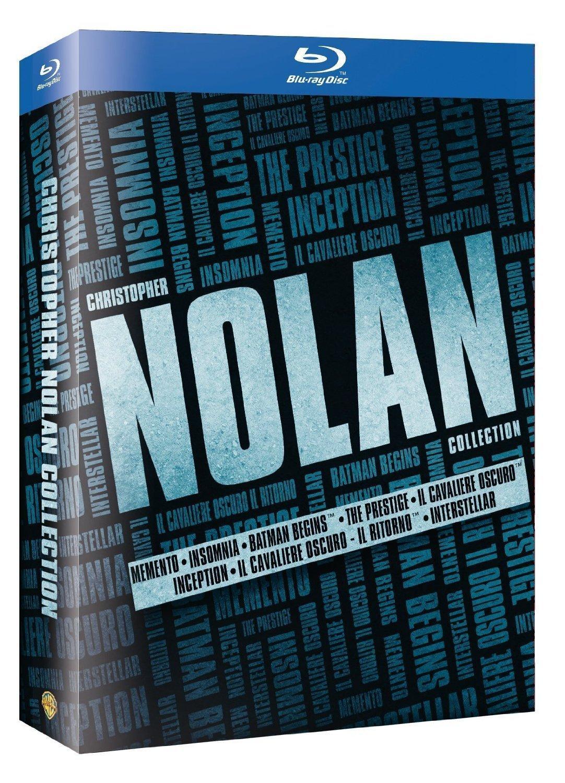 Coffret Blu-ray / DVD offert parmi une sélection Warner Bros - Ex : Coffret blu-ray Nolan (Livraison incluse)