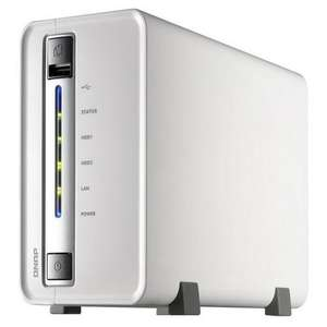 NAS QNAP TS-212P (2 baies - Marvell 6282 1.6 GHz - 512 Mo - USB 3.0)