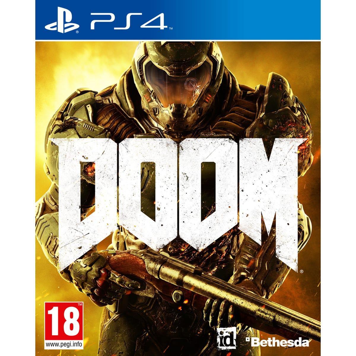 Doom sur PS4 ou Xbox One