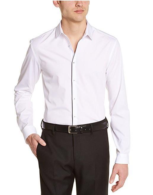 Chemise business Celio Bako pour Homme - Taille ajustée (Tailles S à XL)