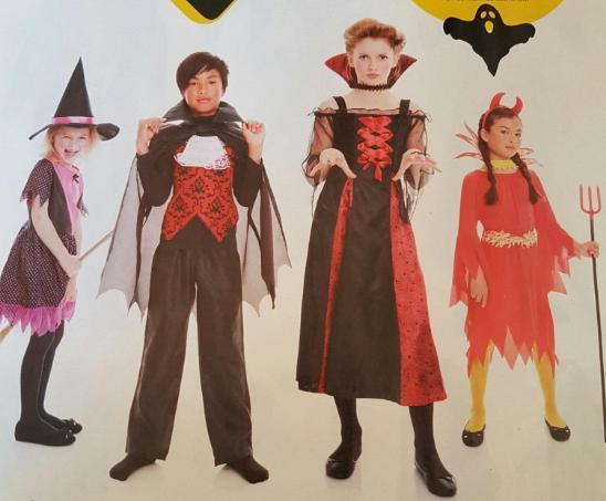Sélection de déguisements pour Halloween en promotion - Ex : tenue pour Enfant