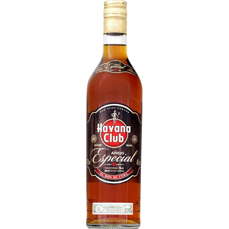 2 bouteilles de Rhum 'Anejo Especial' Havana Club (70 cl)