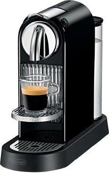 Cafetière à capsules De'Longhi Nespresso Citiz (EN-166.B, noir) + assortiment de 150 capsules Nespresso