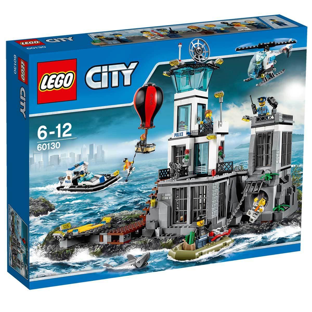 Lego City - La Prison En Haute Mer 60130 (via 10€ sur la carte)