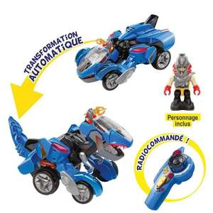 Jouet Super Turbo T. Rex Plasma RC Switch Et Go Dinos Riders Vtech (via ODR de 10€)