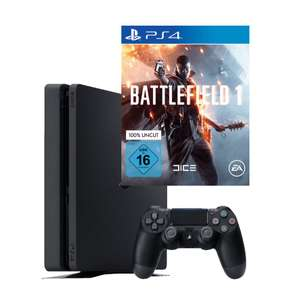 Console Sony PS4 Slim 1To + Battlefield 1