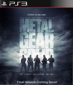 Pré-commande : Metal Gear Solid The Legacy Collection (1987-2012) PS3