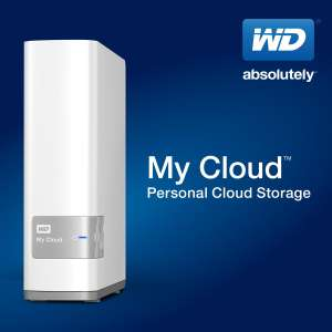 "Sélection de Disques Externes Western Digital reconditionnés en promo - Ex : NAS WD 3.5"" MyCloud 6To Blanc"