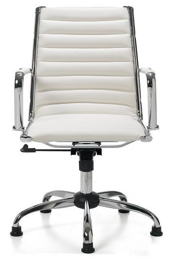 Chaise de bureau Easychair Classic Blanche / Frais de port inclus