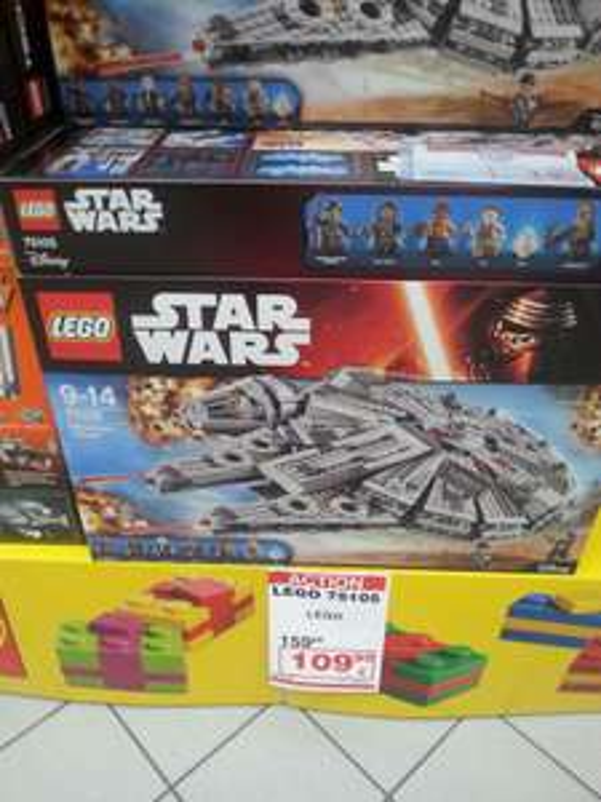 Sélection de jouets Lego en promotion - Ex : Lego Star Wars 75105