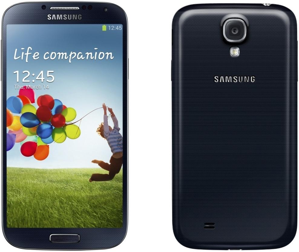Smartphone Samsung Galaxy S4 16Go noir (import DE)