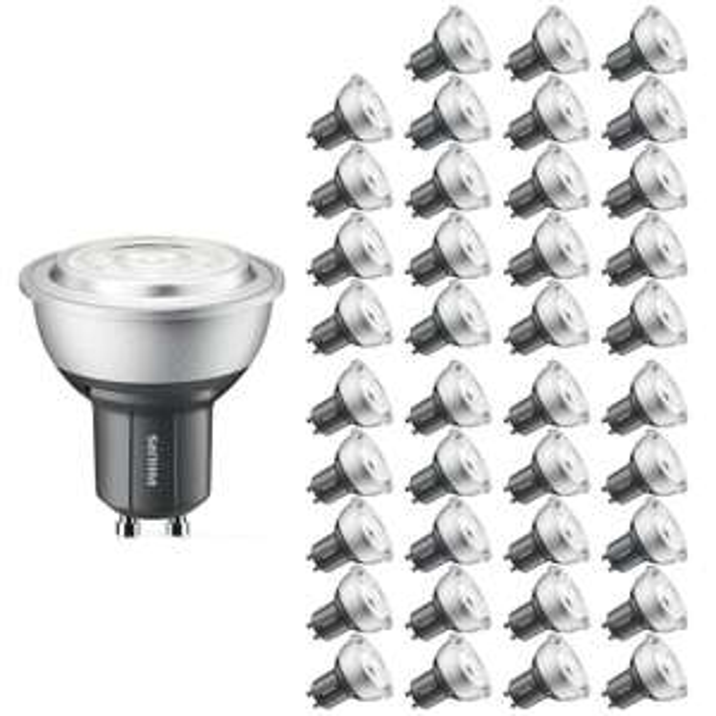 Pack de 40 ampoules GU10 Philips Master - LED, modulable 4W