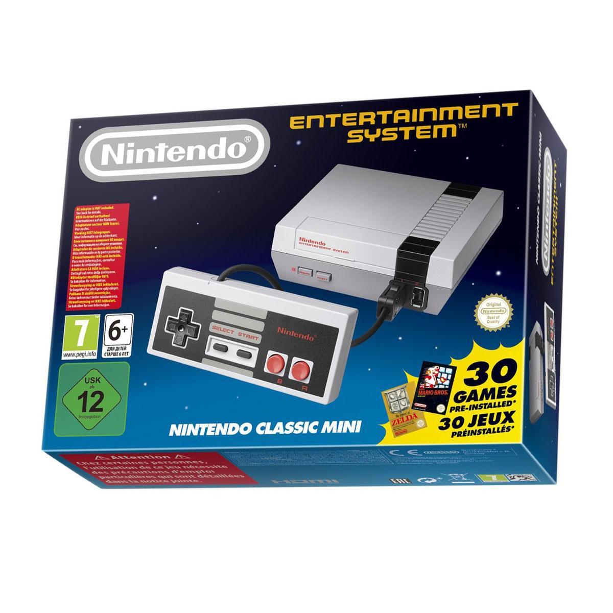 Console Nintendo Classic Mini - NES