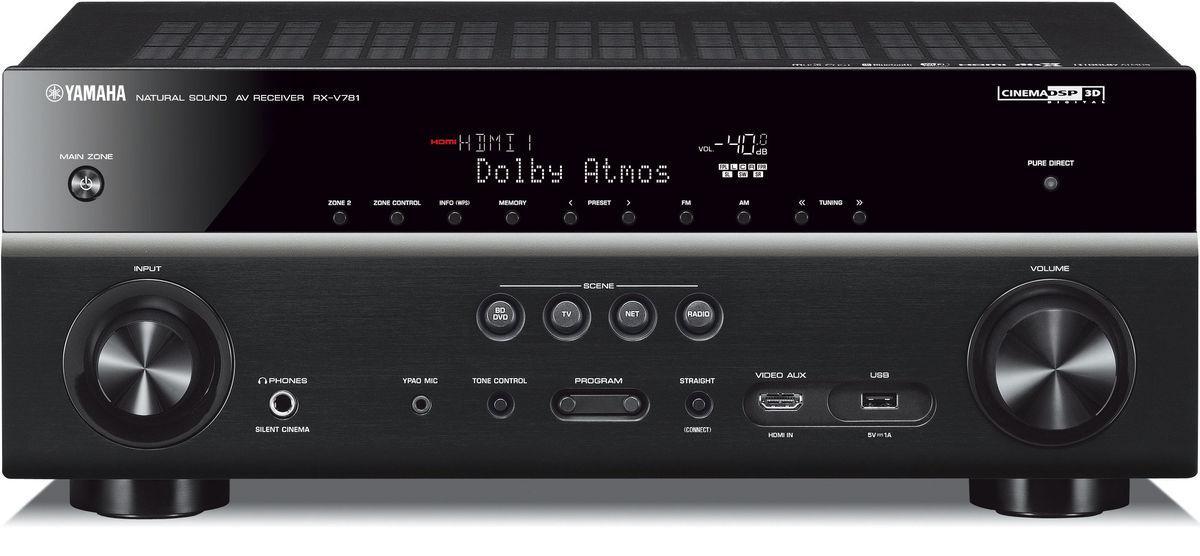 Amplificateur Home Cinéma 7.1 Yamaha RX-V781 MusicCast - Noir