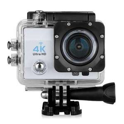 Caméra Sportive Q6 Silver avec Vision Nocturne - WiFi, UHD 4K, 900mAh