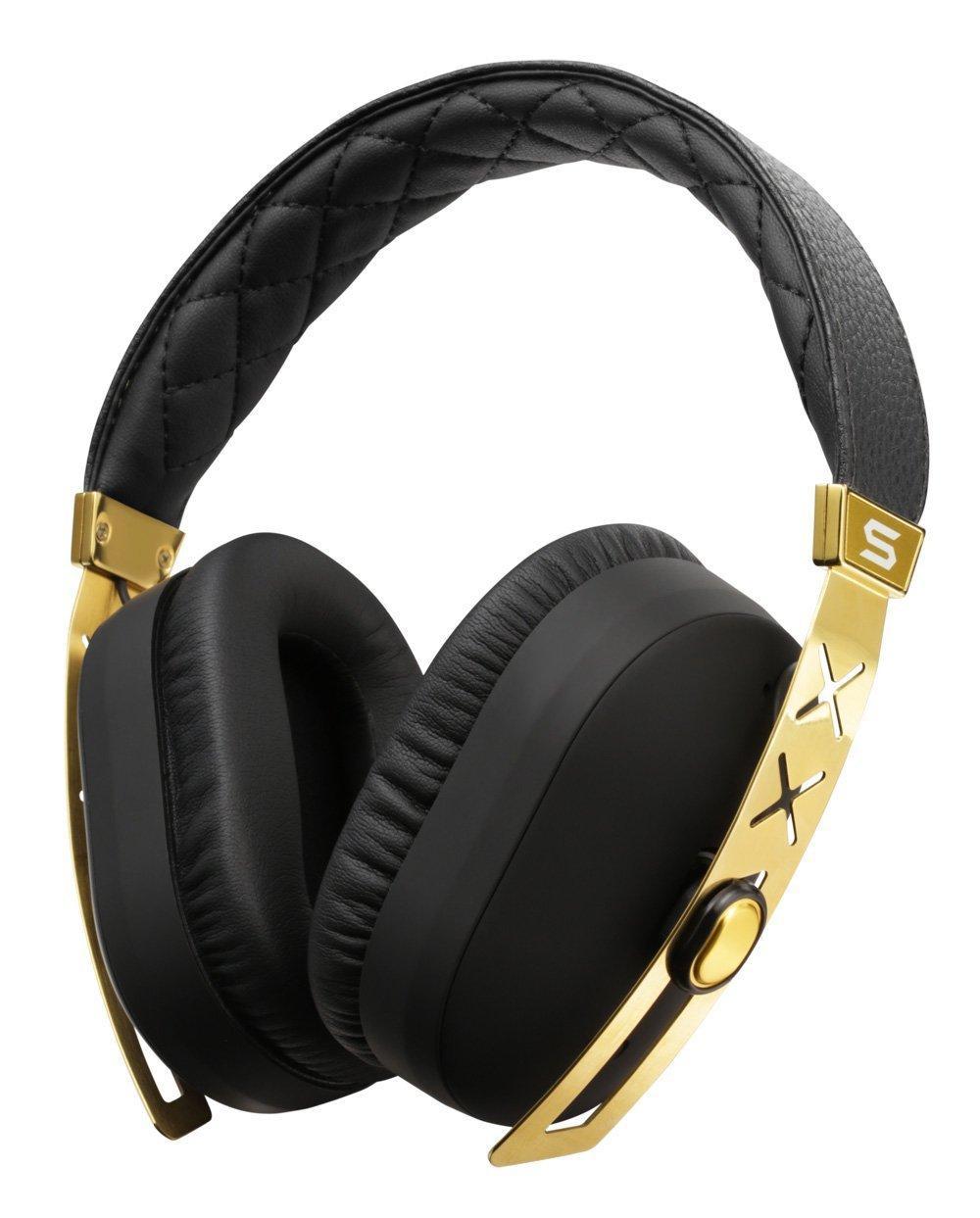Casque Audio Soul Jet Pro 24K avec Technologie anti-bruit - Noir / Or