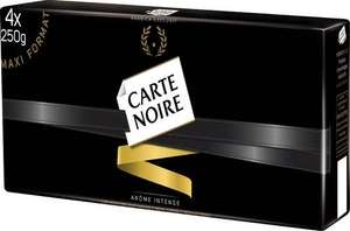 Lot de 4 Paquets de Café Moulu Arabica Carte Noire Classique - 4 x 250g (Via 70% carte de fidélité + 2 BDR)