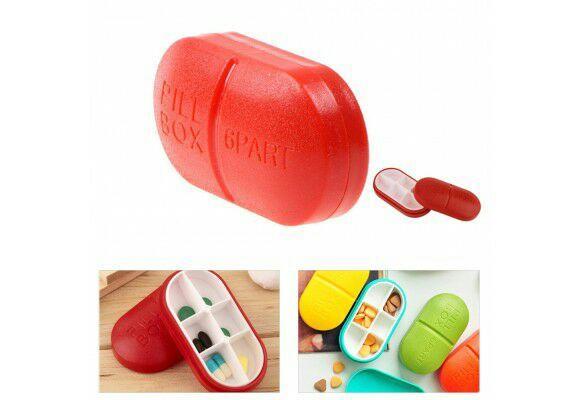 Boite à pilules - Plusieurs coloris (Livraison incluse)