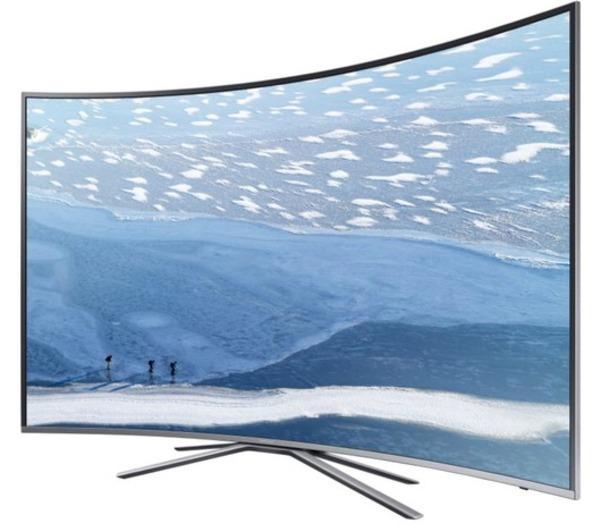 """TV 55"""" Samsung UE55KU6500 - LED, 4K, Incurvé, Smart TV"""