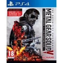 Métal Gear Solid V : The Définitive Expérience sur PS4