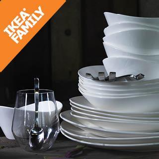 [Ikea Family] Reprise de votre ancienne vaisselle (au poids) - Ex : de 5 à 10 kg