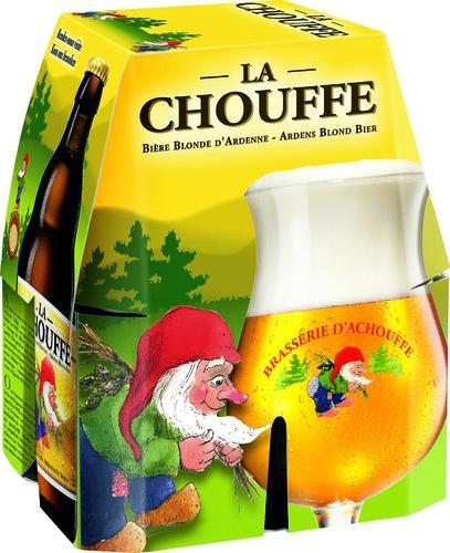 Sélection de bières en promotion - Ex : Pack de 4 Bouteilles La Chouffe - 4x33cl