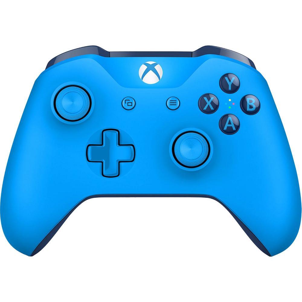 Manette sans fil Microsoft Xbox One S - Bleu
