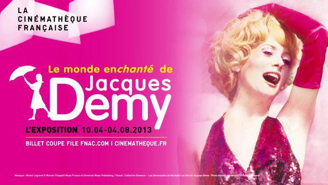Place gratuite pour l'exposition Jacques Demy, grâce à la carte de fidélité Gaumont Pathé