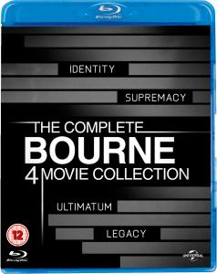 Coffret Blu-ray Jason Bourne - L'Intégrale (4 Films)