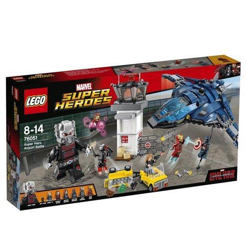 Jouet Lego Super Heroes : La Bataille de l'Aéroport