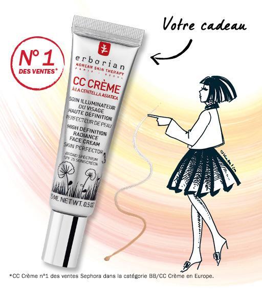 Un tube de CC crème Soin Illuminateur du Visage Haute Définition offert - 15 ml